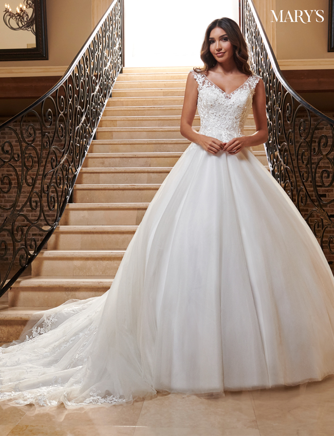 Ivory Color Bridal Dresses - Style - MB2117