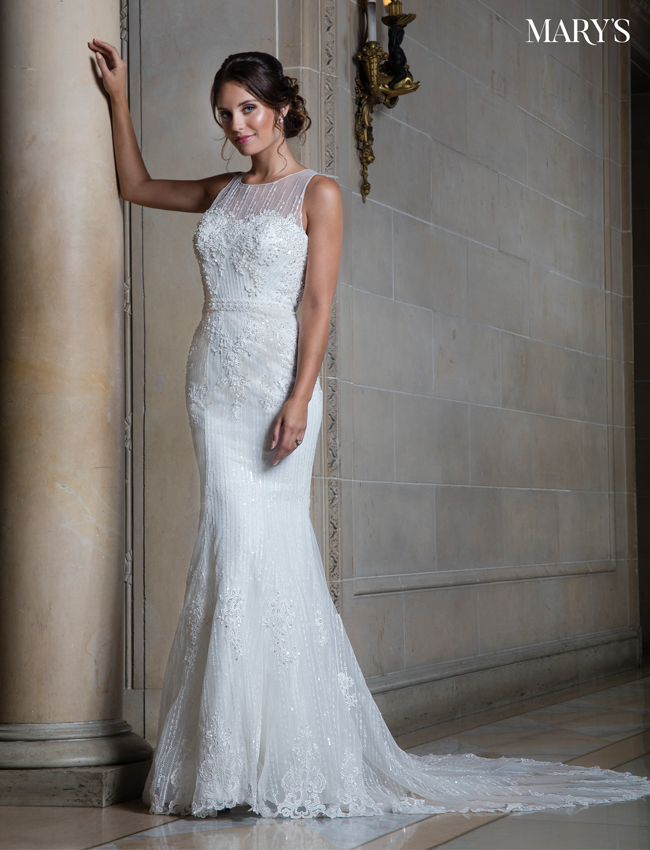 Color Bridal Wedding Dresses - Style - MB3001