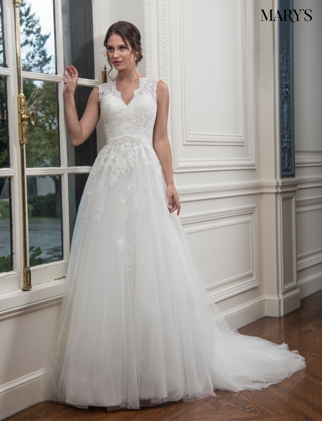 Color Bridal Wedding Dresses - Style - MB3002