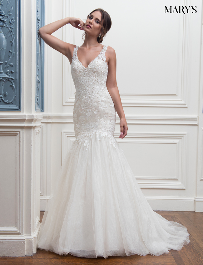 Color Bridal Wedding Dresses - Style - MB3004