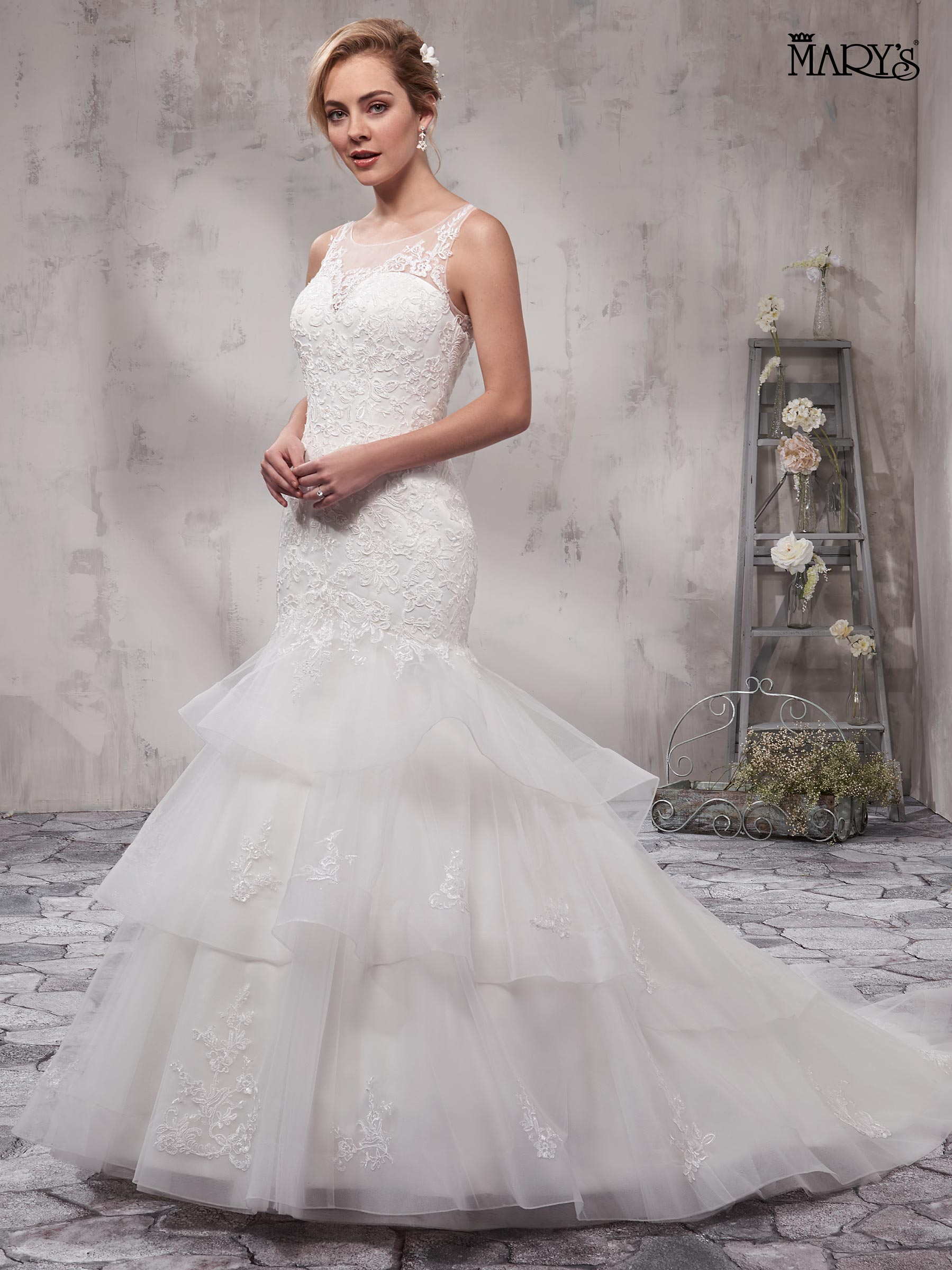 Bridal Wedding Dresses | Mary's | Style - MB3007