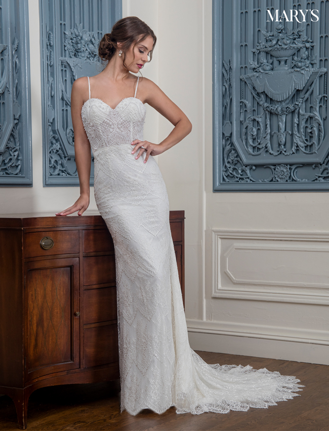 Color Bridal Wedding Dresses - Style - MB3008