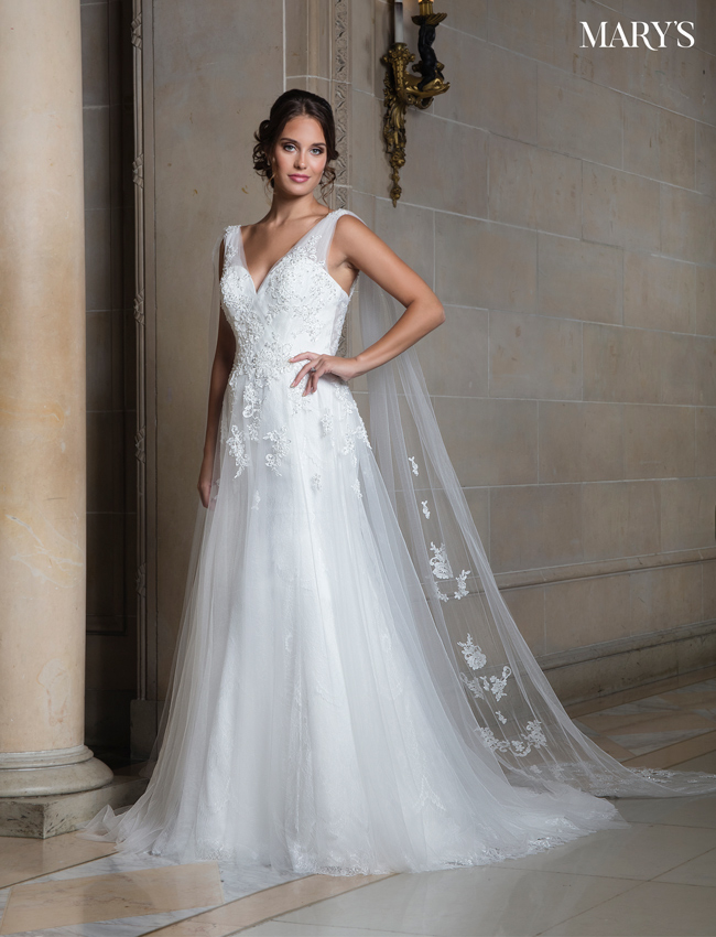 Color Bridal Wedding Dresses - Style - MB3012