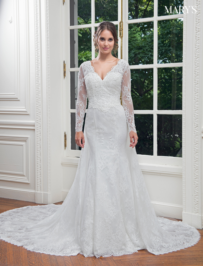 Color Bridal Wedding Dresses - Style - MB3014