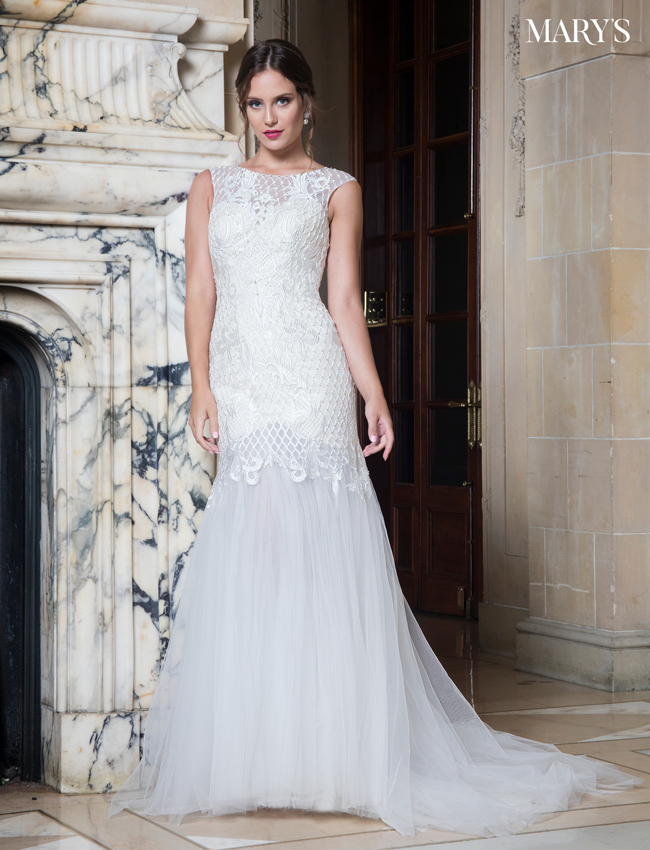 Color Bridal Wedding Dresses - Style - MB3015