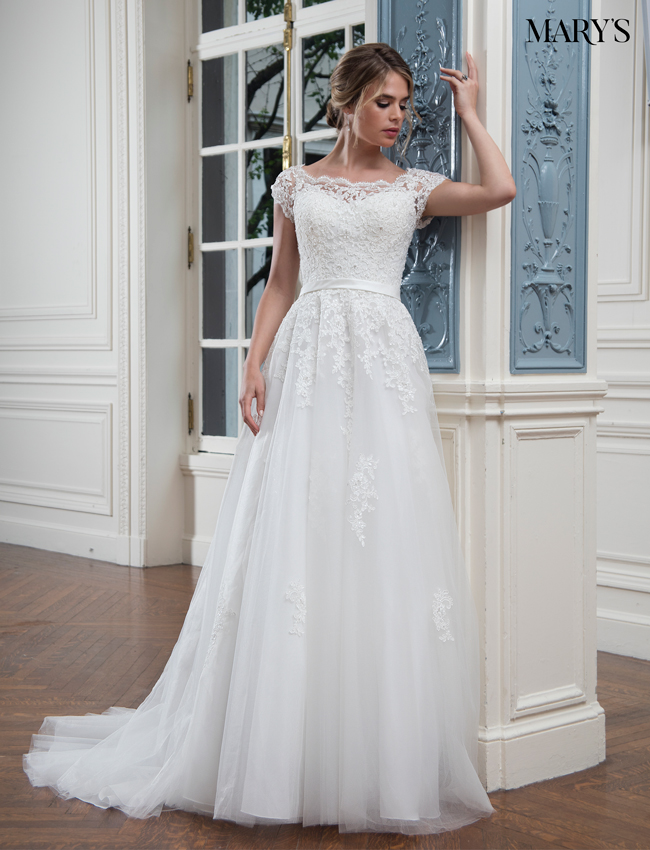 Color Bridal Wedding Dresses - Style - MB3016