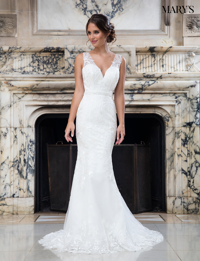 Color Bridal Wedding Dresses - Style - MB3017