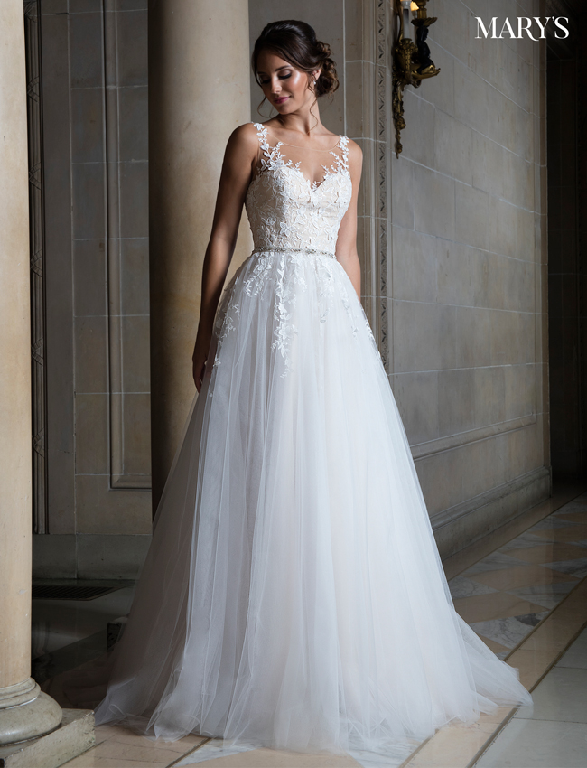 Color Bridal Wedding Dresses - Style - MB3018