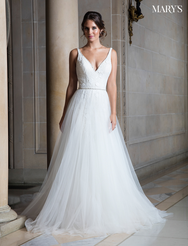 Color Bridal Wedding Dresses - Style - MB3019