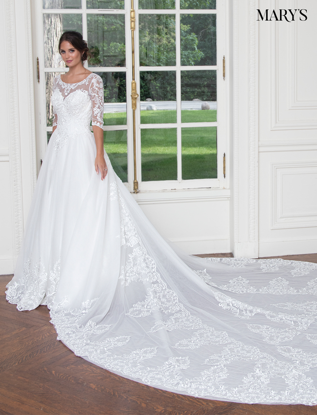 Color Bridal Wedding Dresses - Style - MB3020
