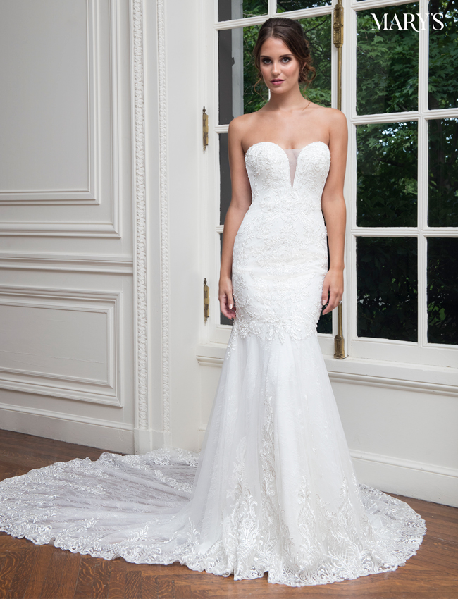 Color Bridal Wedding Dresses - Style - MB3022