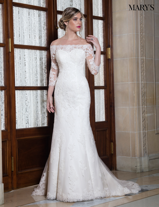 Color Bridal Wedding Dresses - Style - MB3023