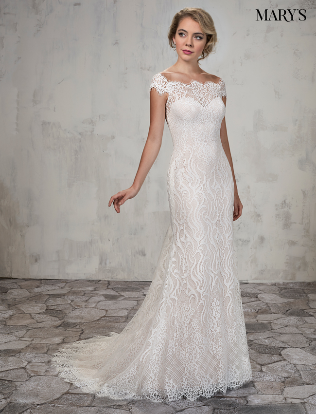 Color Bridal Wedding Dresses - Style - MB3024