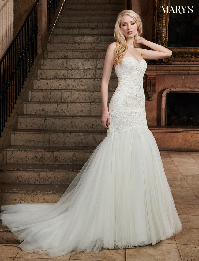 Ivory Color Florencia Bridal Dresses - Style - MB3029