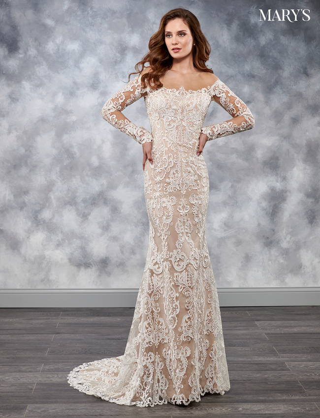 Ivory Color Florencia Bridal Dresses - Style - MB3031