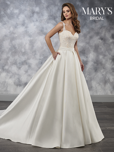 Champagne Color Bridal Wedding Dresses - Style - MB3039