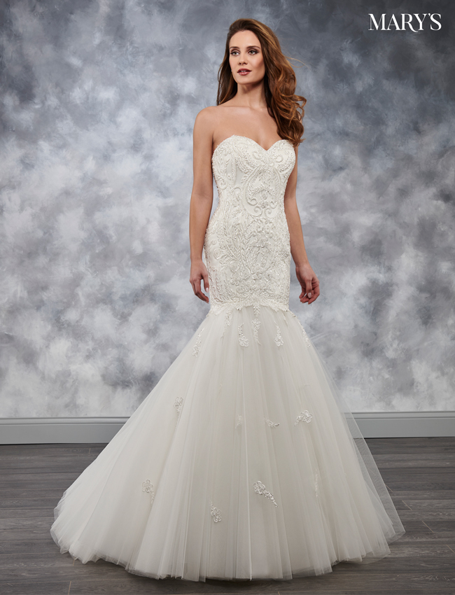 Color Bridal Wedding Dresses - Style - MB3041