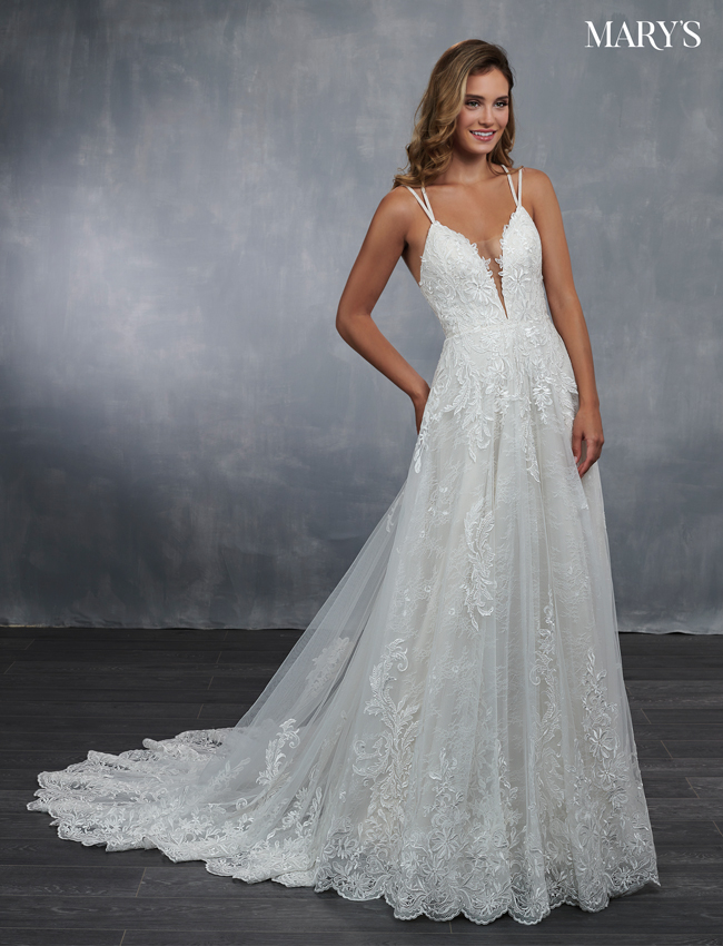 Almond Color Bridal Wedding Dresses - Style - MB3045