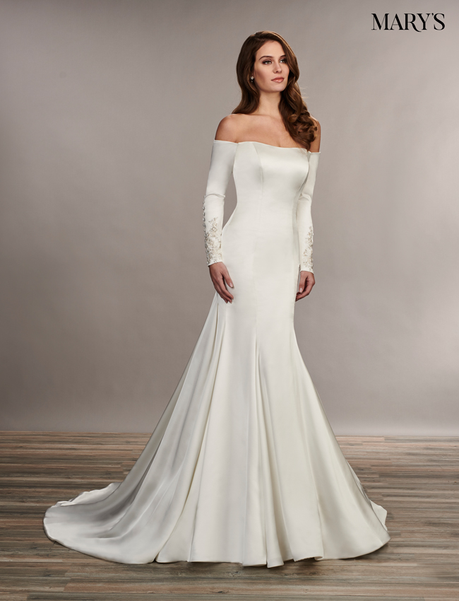 Ivory Color Florencia Bridal Dresses - Style - MB3072