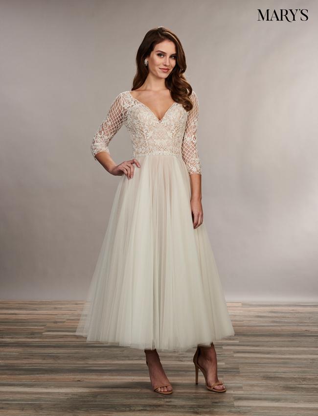 Latte Color Bridal Wedding Dresses - Style - MB3074