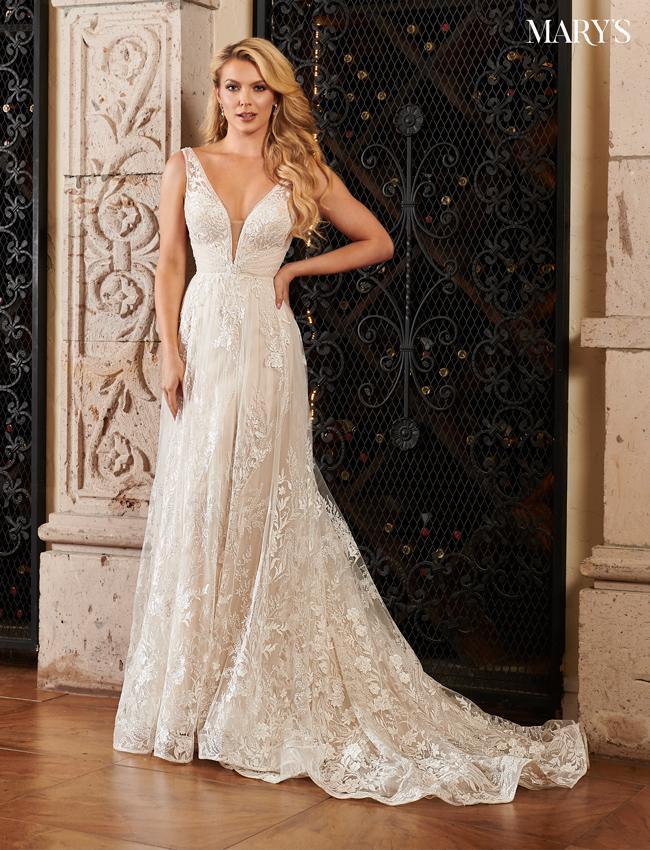 SAND Color Florencia Bridal Dresses - Style - MB3090