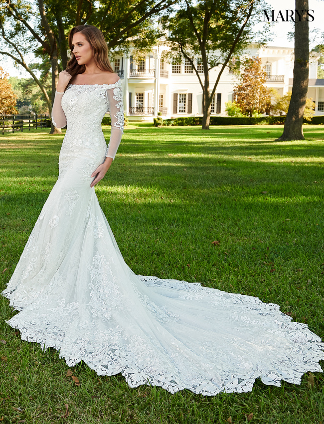 Ivory Color Florencia Bridal Dresses - Style - MB3091