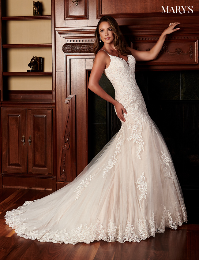 Champagne Color Florencia Bridal Dresses - Style - MB3096