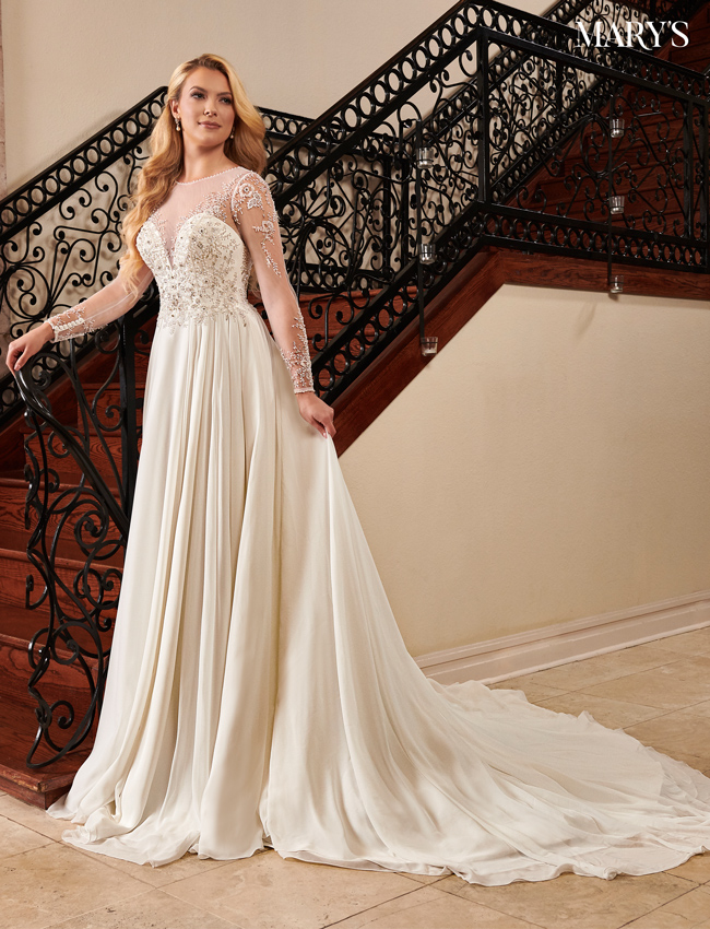 Ivory Color Florencia Bridal Dresses - Style - MB3097