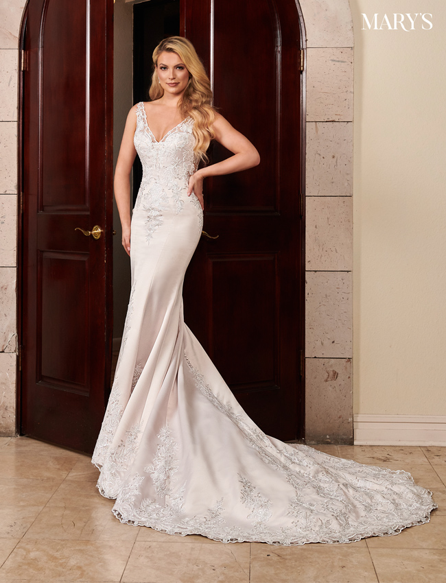Blush Color Florencia Bridal Dresses - Style - MB3100