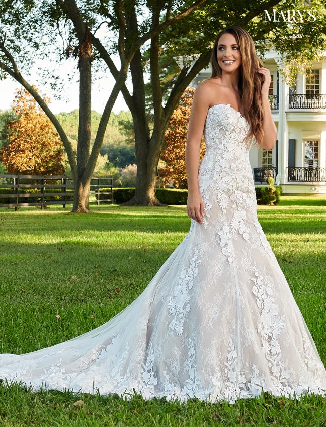 Mocha Color Florencia Bridal Dresses - Style - MB3101