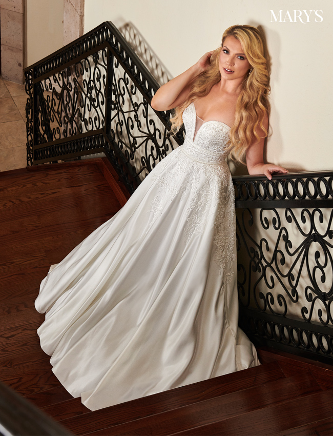 Ivory Color Florencia Bridal Dresses - Style - MB3103