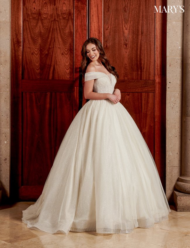 Ivory Color Florencia Bridal Dresses - Style - MB3110