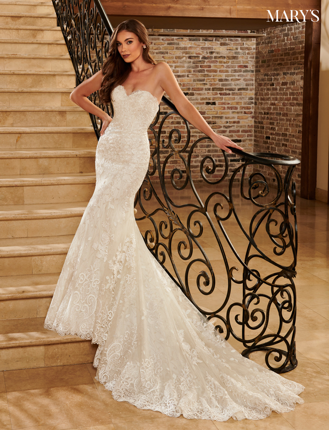 Ivory Color Florencia Bridal Dresses - Style - MB3111