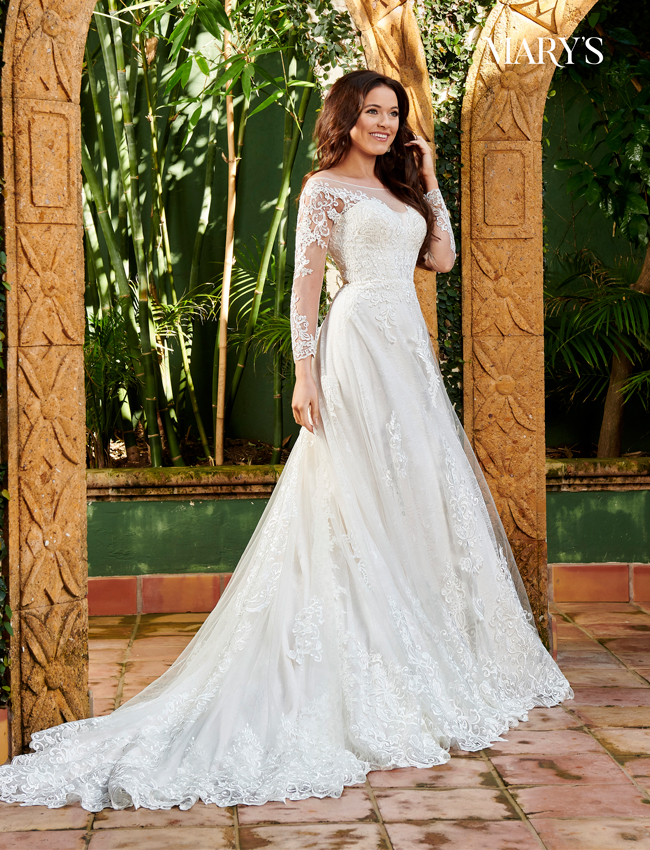 Ivory Color Florencia Bridal Dresses - Style - MB3112