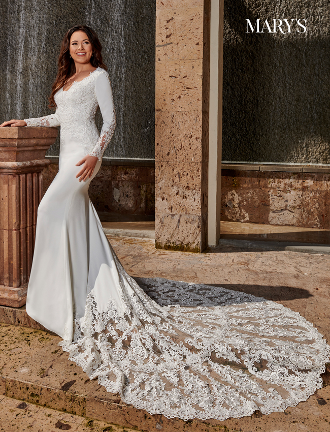 Ivory Color Florencia Bridal Dresses - Style - MB3114