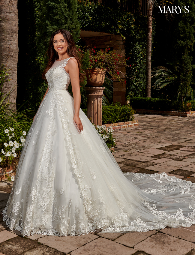 Ivory Color Florencia Bridal Dresses - Style - MB3115