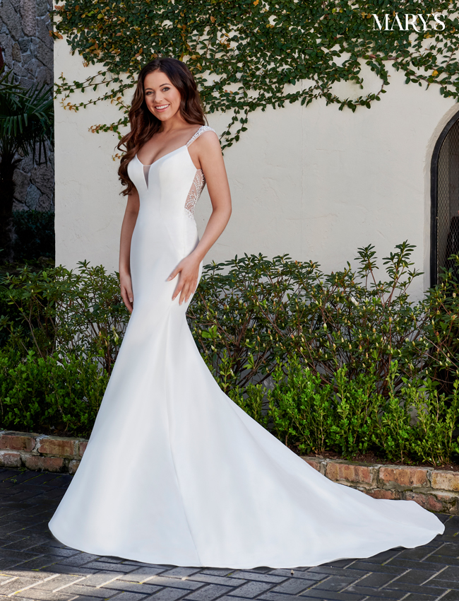 Ivory Color Florencia Bridal Dresses - Style - MB3117