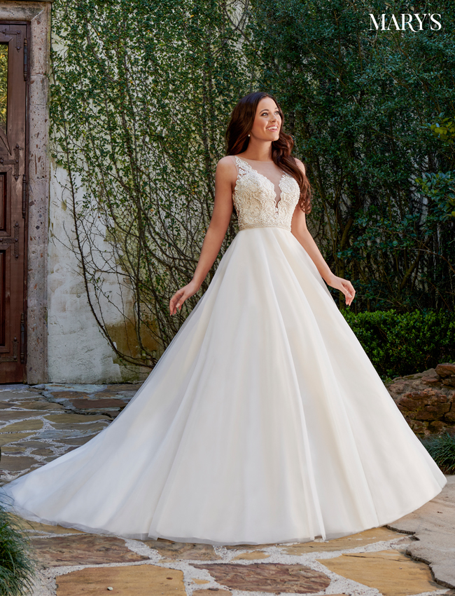 Rum-pink Color Florencia Bridal Dresses - Style - MB3118