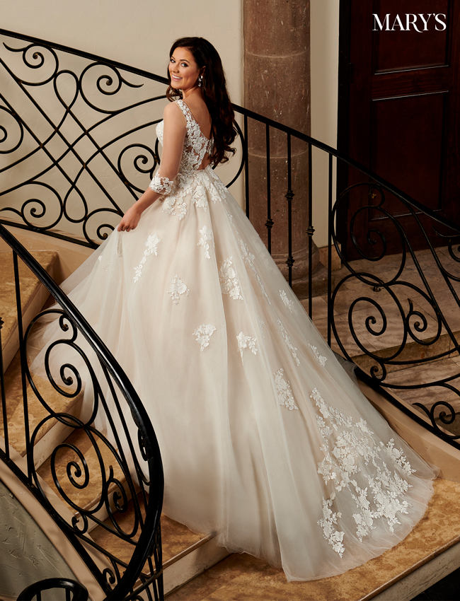 Champagne Color Florencia Bridal Dresses - Style - MB3119