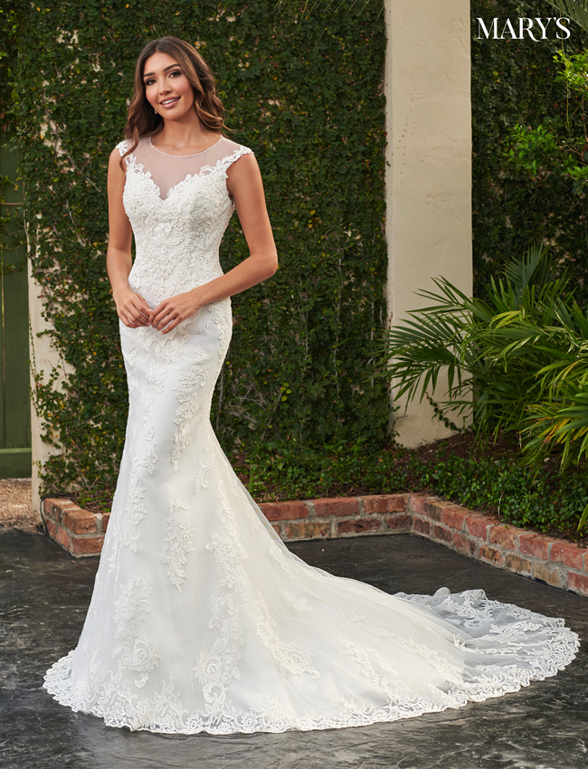 Ivory Color Florencia Bridal Dresses - Style - MB3120