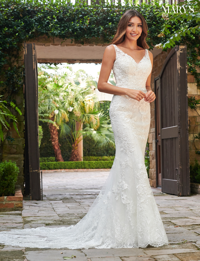 Ivory Color Florencia Bridal Dresses - Style - MB3122