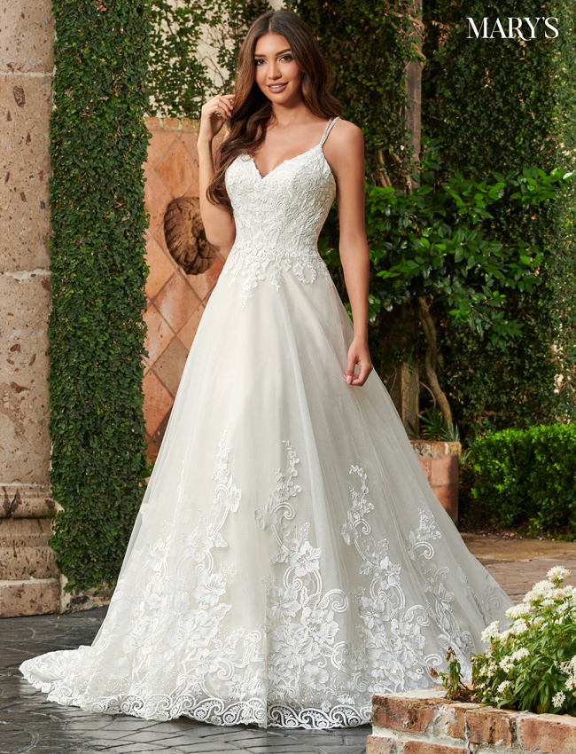 Champagne Color Florencia Bridal Dresses - Style - MB3123