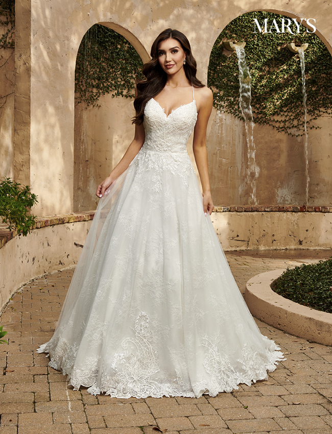Ivory Color Florencia Bridal Dresses - Style - MB3124
