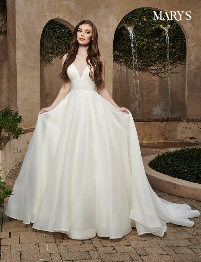 Ivory Color Florencia Bridal Dresses - Style - MB3125