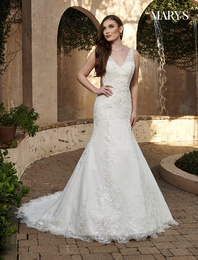 Ivory Color Florencia Bridal Dresses - Style - MB3127