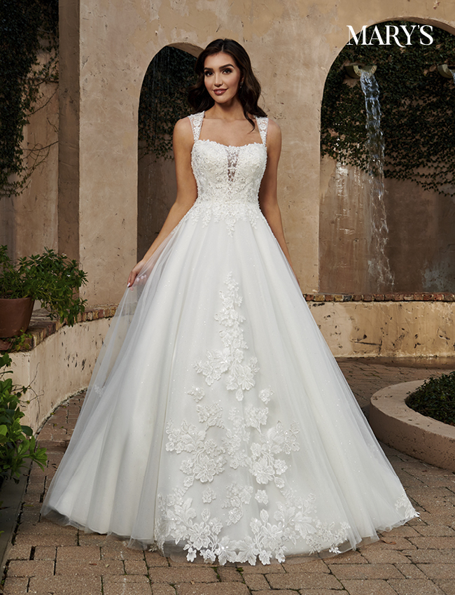 Ivory Color Florencia Bridal Dresses - Style - MB3128
