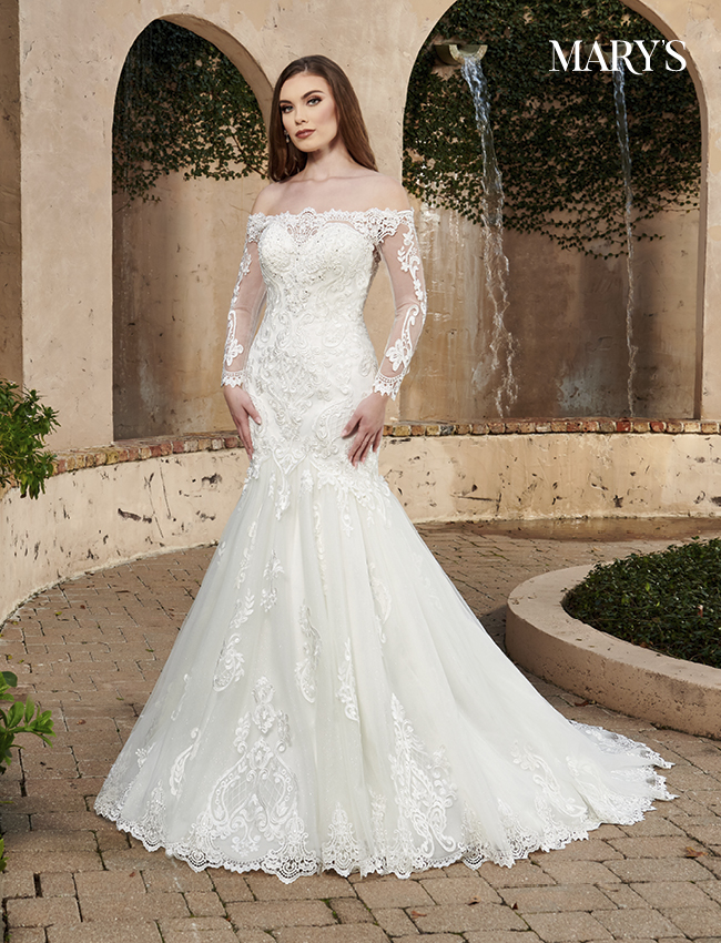 Ivory Color Florencia Bridal Dresses - Style - MB3129