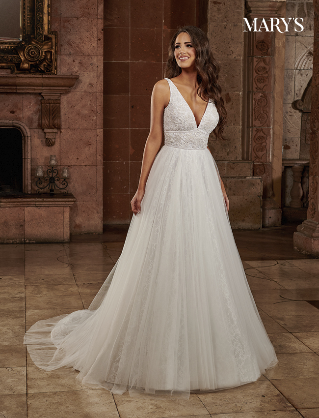 Ivory Color Florencia Bridal Dresses - Style - MB3131