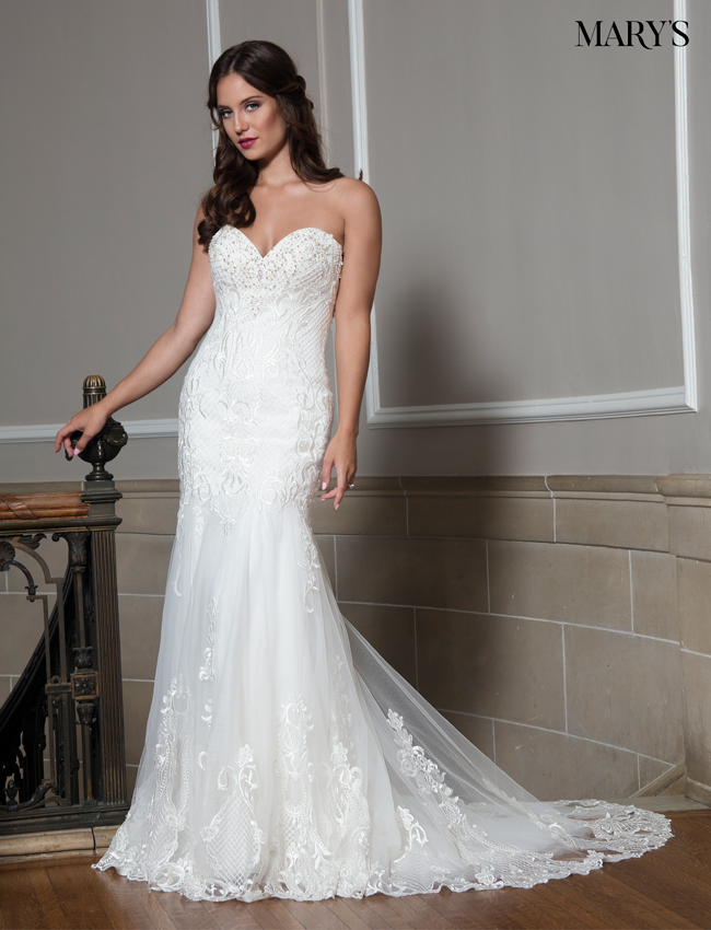 Ivory Color Couture Damour Bridal Dresses - Style - MB4014