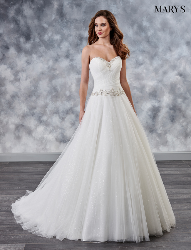 Ivory Color Couture Damour Bridal Dresses - Style - MB4028